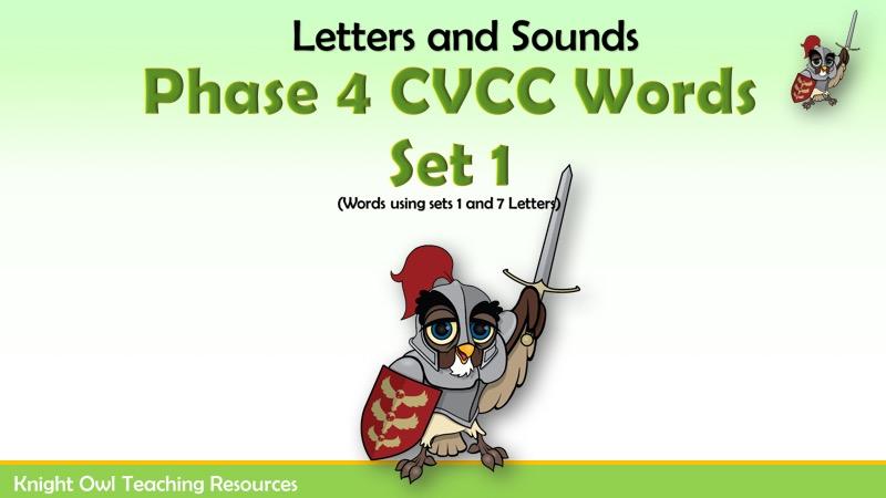 Phase 4 cvcc words set 1 expocarfo Images
