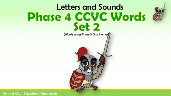 1Phase 4 Words using Phase Three Graphemes Set 2 pptx