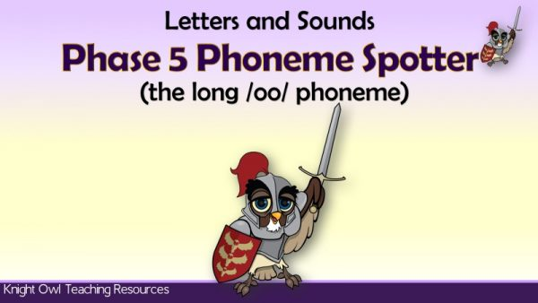 1Phase 5 Phoneme Spotter - the long 'oo' phoneme (2)