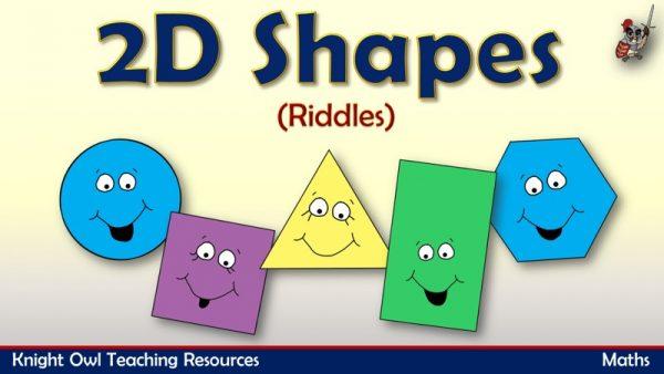 2D Shapes - Riddles 1