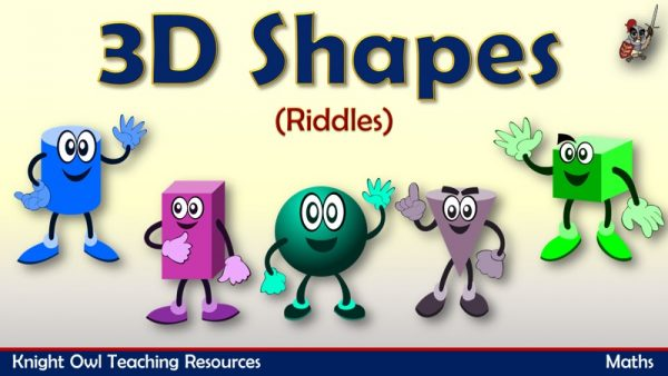 3D Shapes - Riddles1