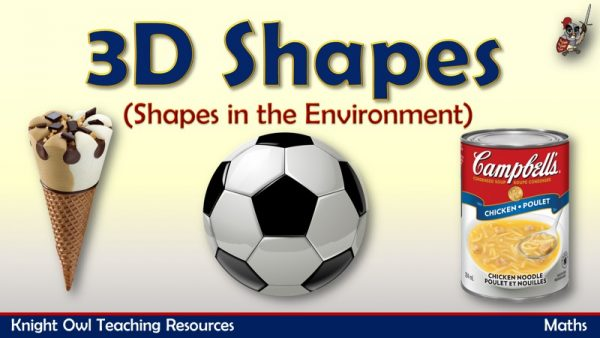 3D Shapes - Shapes in the Environment1
