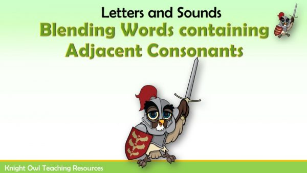 Blending Words containing Adjacent Consonants