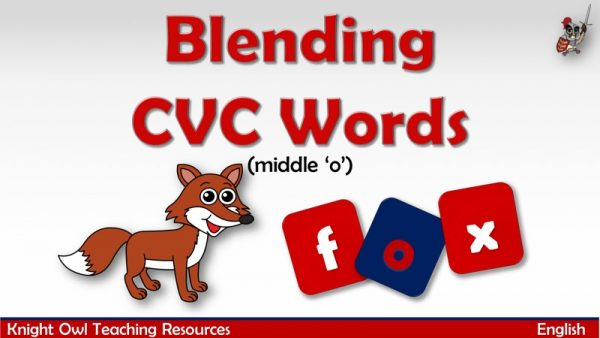 CVC Words - middle 'o'1