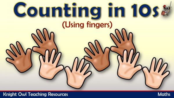 Counting in 10s - using fingers1