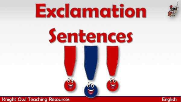 Exclamation Sentences1