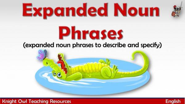 Expanded Noun Phrases1