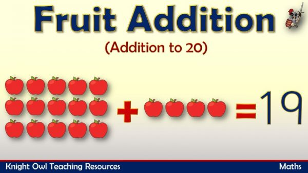 Fruit Addition - Addition to 20 1