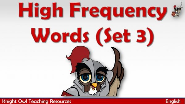 High Frequency Words Set 3 1