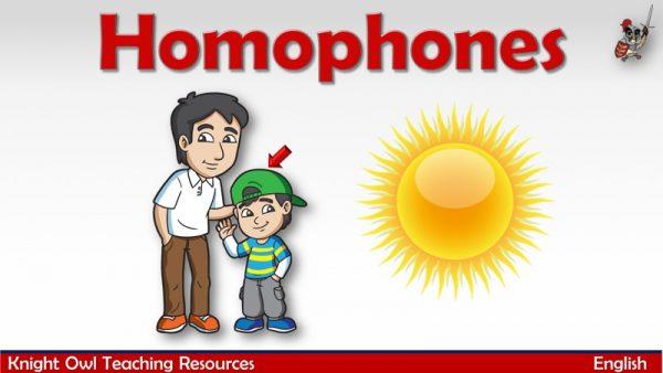 Homophones 1