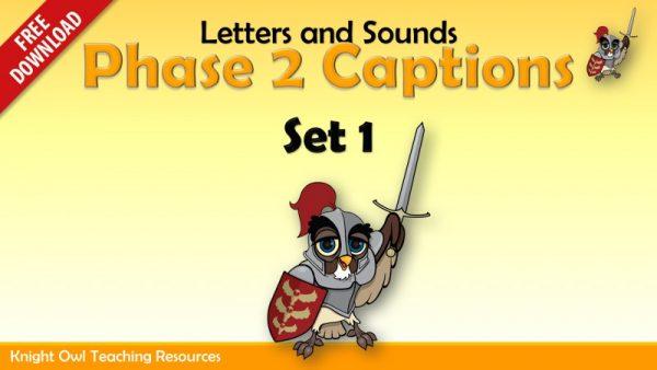 Phase 2 Captions Set 1 freebie