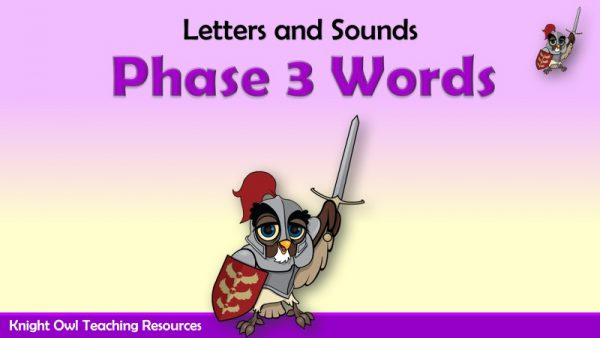 Phase 3 Decodable & Tricky Words1
