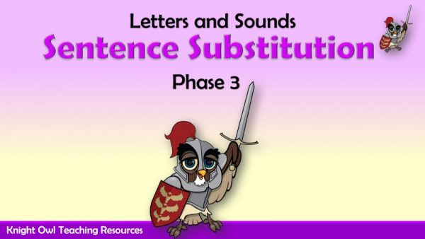 Phase 3 Sentence Substitution1