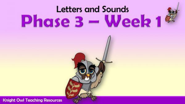 Phase 3 - Week 1