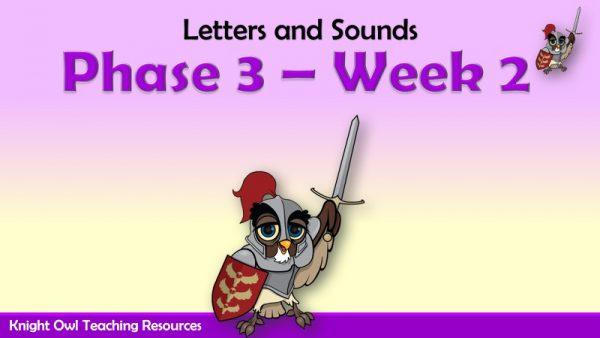 Phase 3 - Week 2