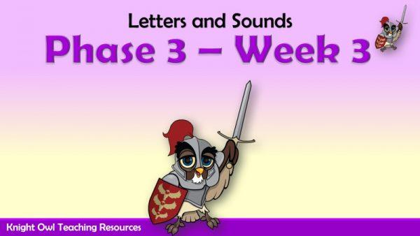 Phase 3 - Week 3 1