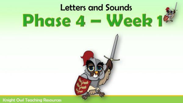Phase 4 - Week 1 1