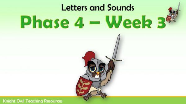 Phase 4 - Week 3 1