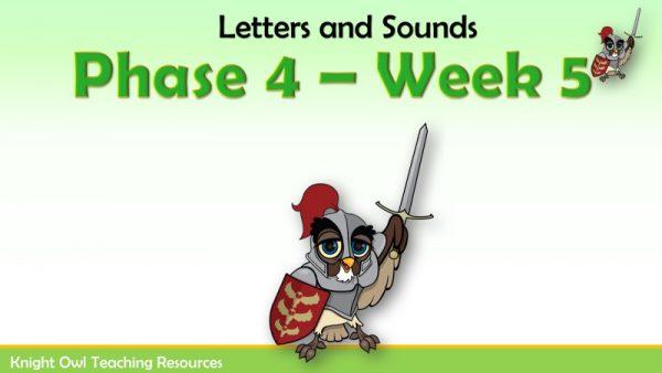 Phase 4 - Week 5 1