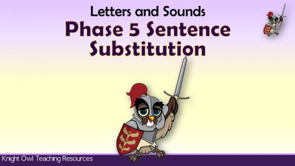 Phase 5 Sentence Substitution1