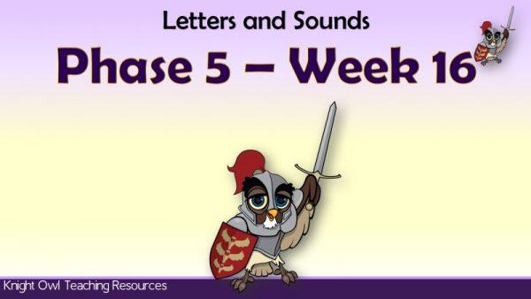 Phase 5 Week 16 1
