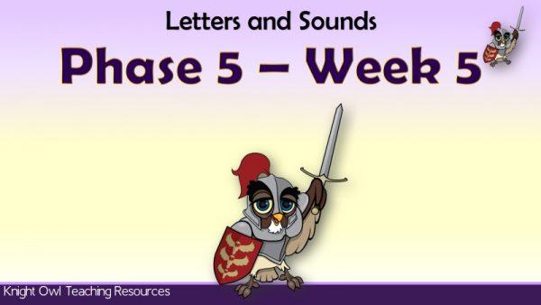 Phase 5 Week 51