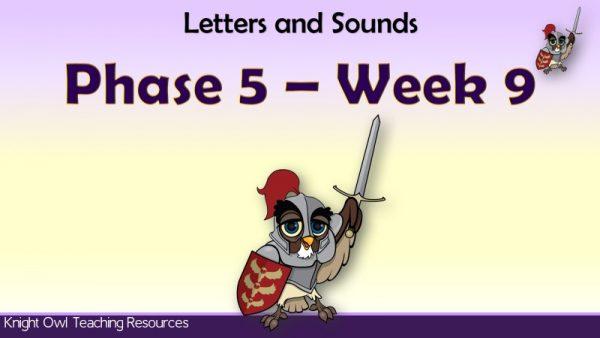 Phase 5 Week 9 1