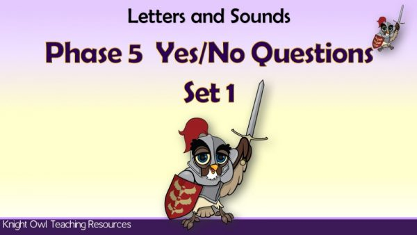 Phase 5 Yes-No Questions Set 1 1