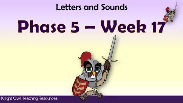 Phase 5 week 17 1