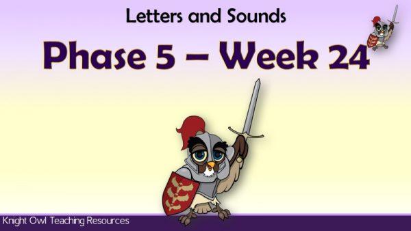 Phase 5 week 241