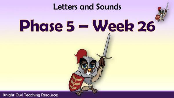 Phase 5 week 261