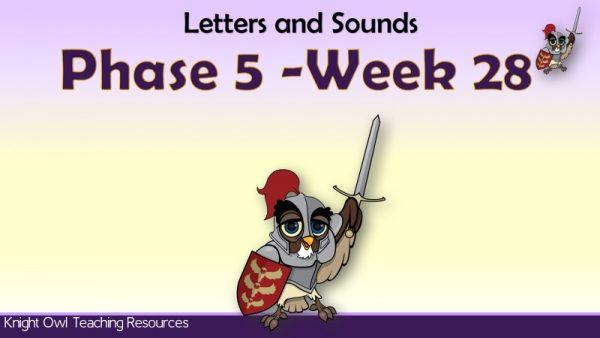 Phase 5 week 281