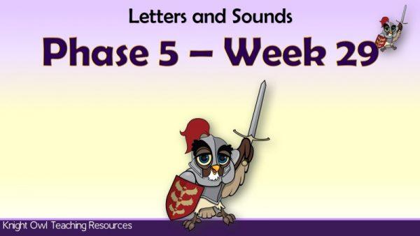 Phase 5 week 291
