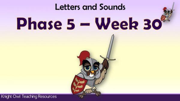 Phase 5 week 301