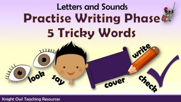 Practise Writing Phase 5 Tricky Words1