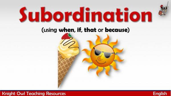 Subordination1