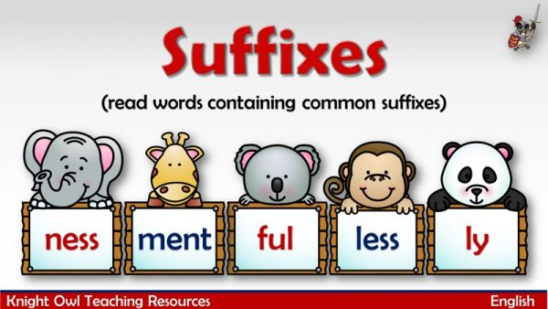 Suffixes1