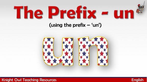 The Prefix - un1