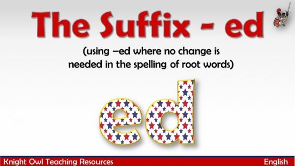 The Suffix - ed1
