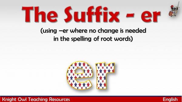 The Suffix - er1