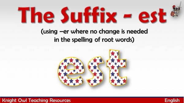 The Suffix - est1