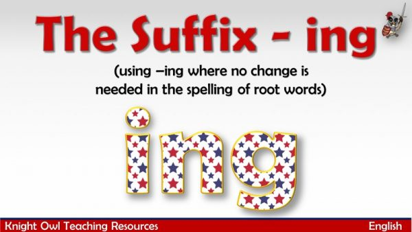 The Suffix - ing1