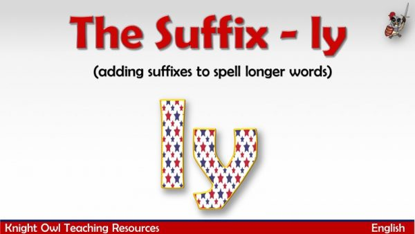 The Suffix - ly1