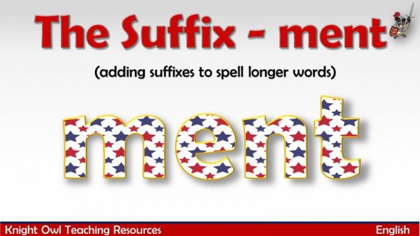 The Suffix - ment1