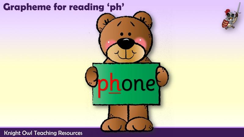 Phase 5 Grapheme - 'ph' words