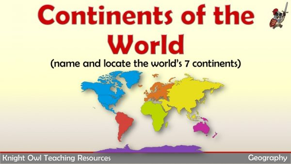 Continents of the World 1