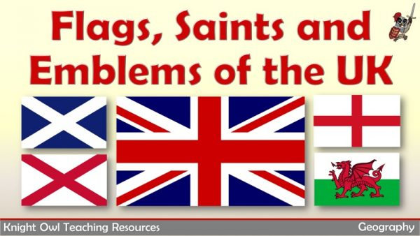 Flags, saints and emblems of the UK 1