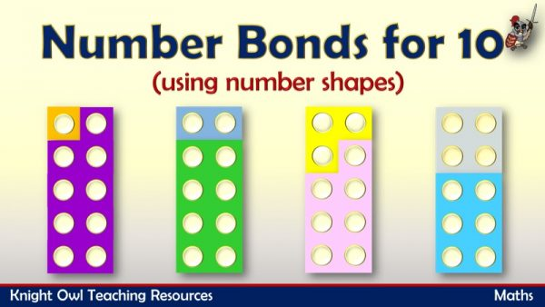 Number Bonds for 10 1