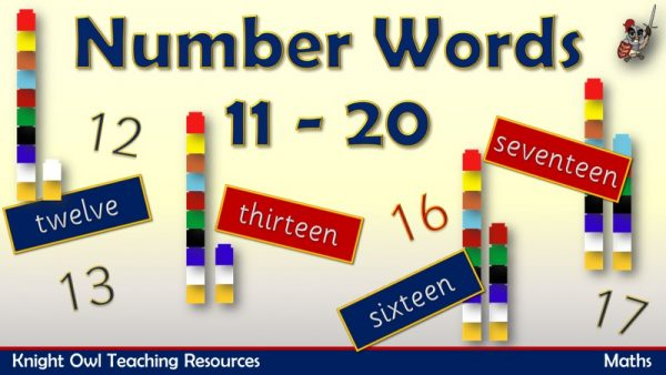 Number Words 11 - 201