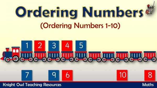 Ordering Numbers to 10 (Train)1